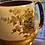 Thumbnail: Antique Peach and Brass Pitcher