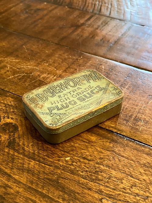 Antique Edgeworth Hinged Tin