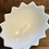 Thumbnail: Vintage Footed Petal Footed Milkglass