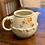 Thumbnail: Antique Ceramic Flower Pitcher
