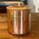 Thumbnail: Vintage Copper Flour Canister