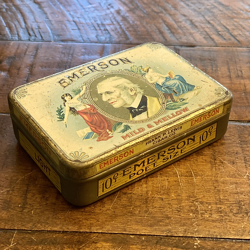 Antique Emerson Tobacco Tin