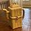 Thumbnail: Vintage Asian Bamboo Clay Teapot