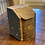 Thumbnail: Antique Tea Hinged Canister