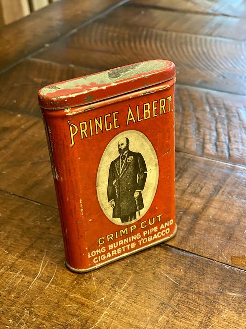 Antique Prince Albert Pocket Tin