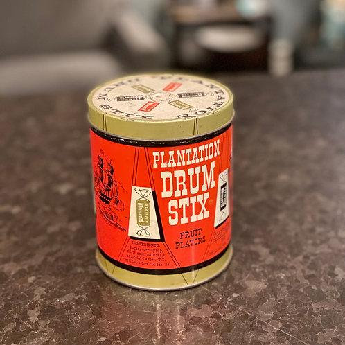 Vintage Plantation Candy Tin