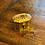 Thumbnail: Antique Mini Octogan Brass Cricket Box