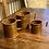 Thumbnail: Antique Medium Solid Copper Grain Cup