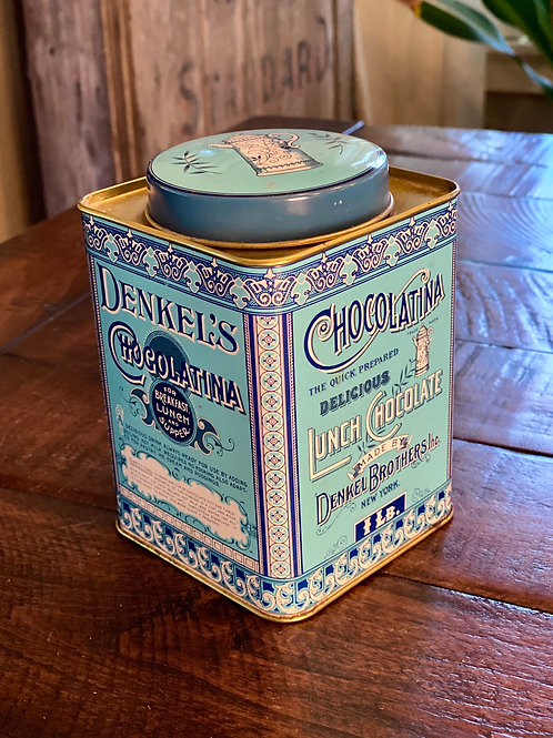 Vintage Chocolate Tin