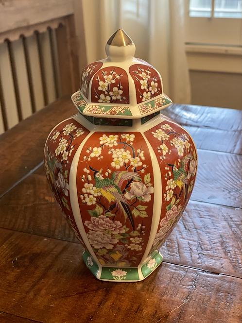 Vintage Asian Ceramic Vase