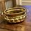 Thumbnail: Antique Solid Brass Bubbled Bowl