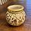 Thumbnail: Vintage Ceramic Metallic Flower Vase
