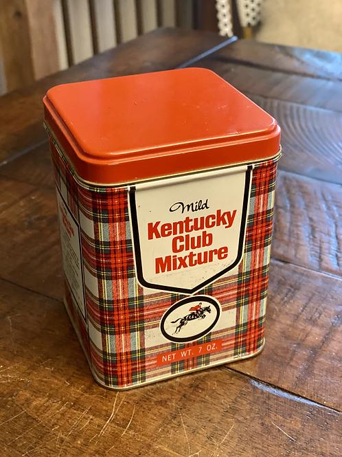 Kentucky Club Tobacco Tin