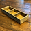 Thumbnail: Vintage 3-Cubbie Distressed Wood Box