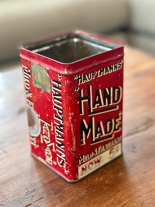 Antique 5 cent Haupmann's Tobacco Tin