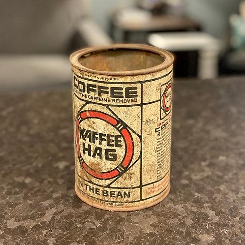 Vintage Kaffee Hag Coffee Tin