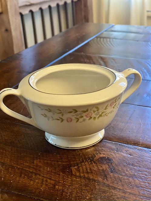 Antique Ceramic Sugar Bowl