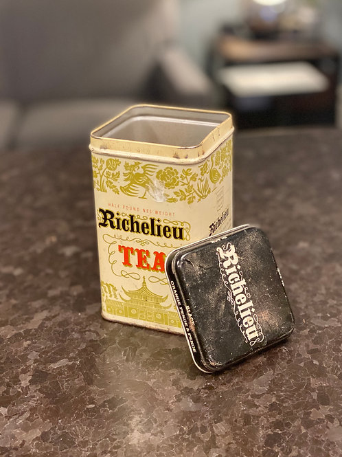 Vintage Richelieu Tea Tin
