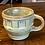Thumbnail: Midcentury Frankoma Prairie Green Wagon Wheel Cup