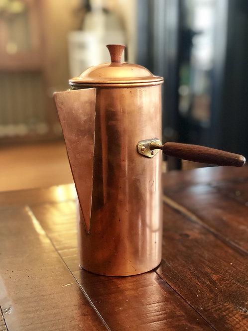 Midcentury Copper Teapot