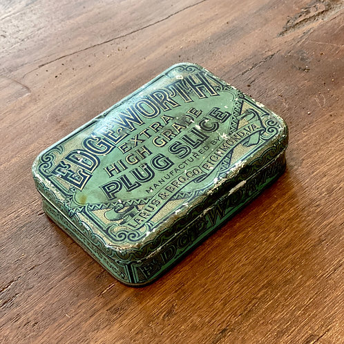 Antique Edgeworth Tobacco Tin