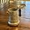 Thumbnail: Vintage Tin Scalloped Teapot