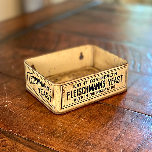 Antique Fleischmann's Yeast Tin