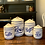 Thumbnail: Vintage Ceramic Flour Canister