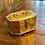 Thumbnail: Antique Medium Octogan Brass Cricket Box