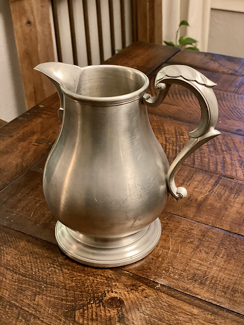 Antique English Silver Pitcher