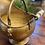 Thumbnail: Antique Brass Coal Scuttle