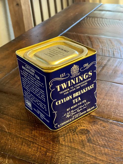 Vintage Twinings Tea Canister