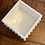Thumbnail: Antique Square Footed Milkglass