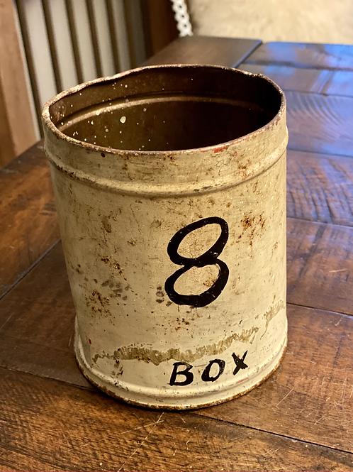 Vintage 8-Box Tin