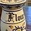 Thumbnail: Antique Handpainted Flour Canister