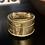 Thumbnail: Antique Round Brass Cricket Box