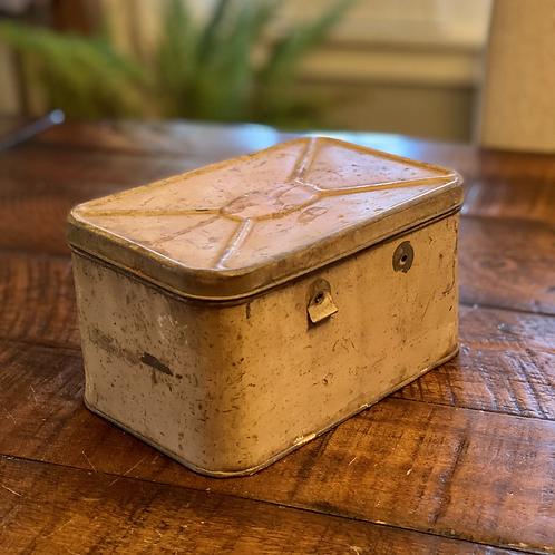 Dusty Rose Vintage Lunchbox
