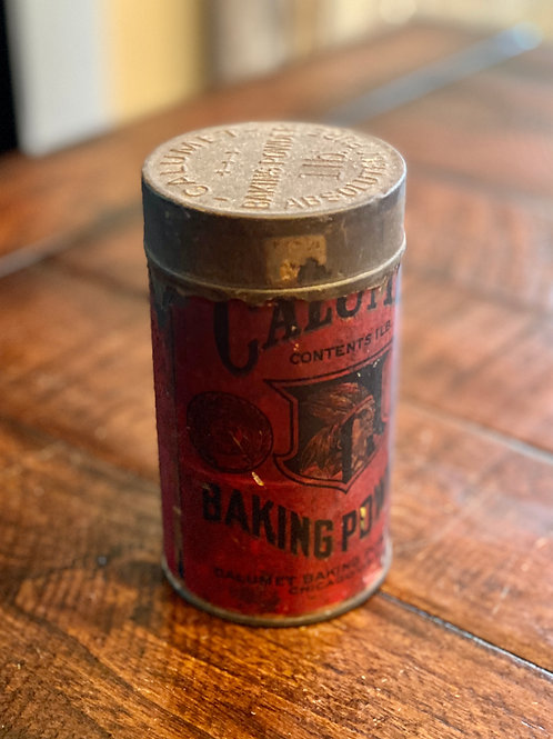 Antique Calumet Baking Powder Tin