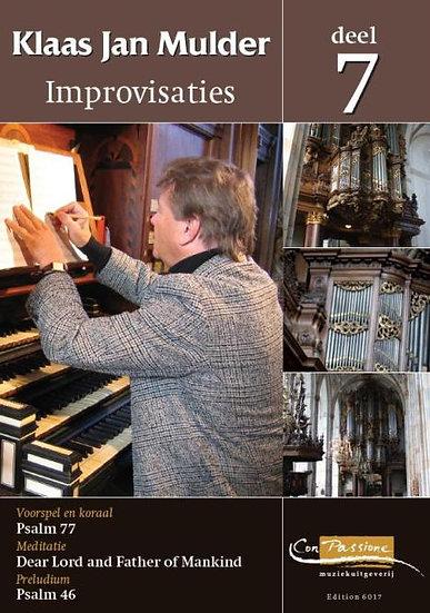Improvisations Book 7 - Klaas Jan Mulder