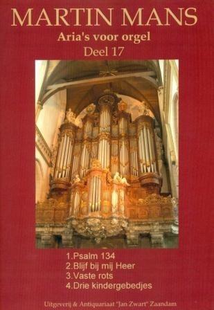 Arias voor Orgel Book 17 - Martin Mans