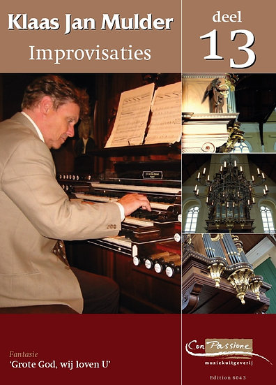 Improvisations Book 13 - Klaas Jan Mulder