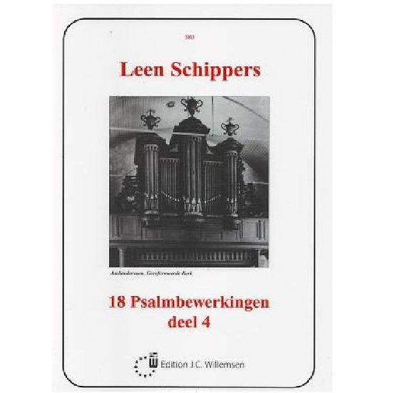 Leen Schippers - 18 Psalmbewerkingen Book 4