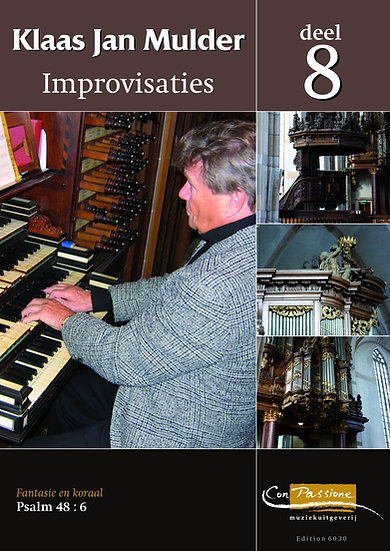 Improvisations Book 8 - Klaas Jan Mulder