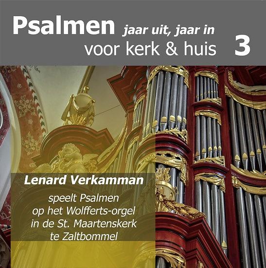 Lennard Verkamman  - Psalmen Voor Kerk & Huis 3