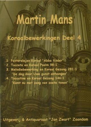 Koraalbewerkingen Book 4 - Martin Mans