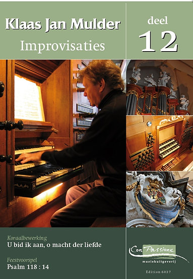 Improvisations Book 12 - Klaas Jan Mulder