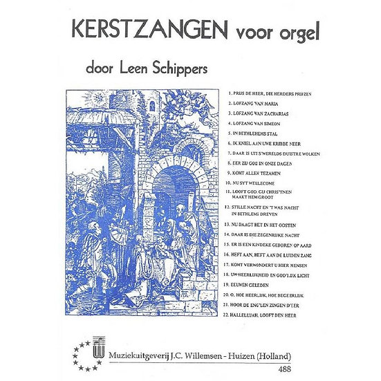 Leen Schippers - Kerstzangen voor Orgel