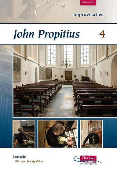 Improvisations Book 4 - John Propitius