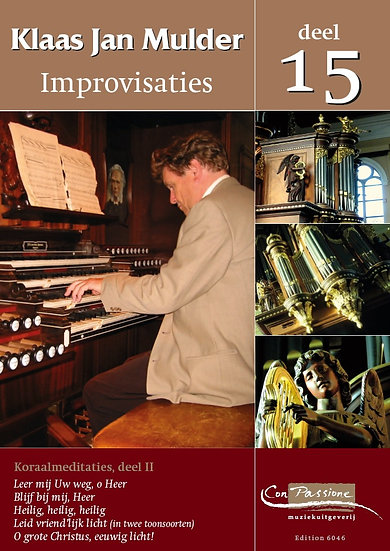 Improvisations Book 15 - Klaas Jan Mulder