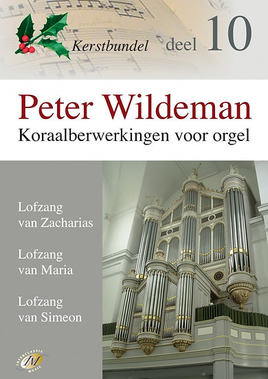 Koraalberwerkingen 10 (Christmas) - Peter Wildeman
